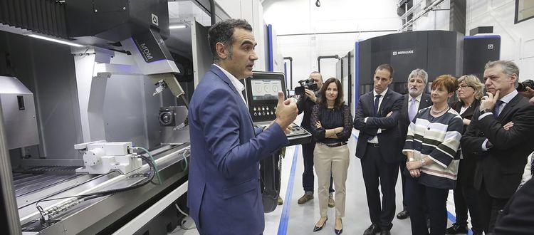 Euskadiko industriako digitalizaziorako eta artezketarako nodoa jaio da. DGHI