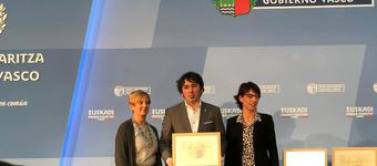 El Gobierno Vasco reconoce la labor científica del investigador de IK4-IDEKO Jokin Muñoa