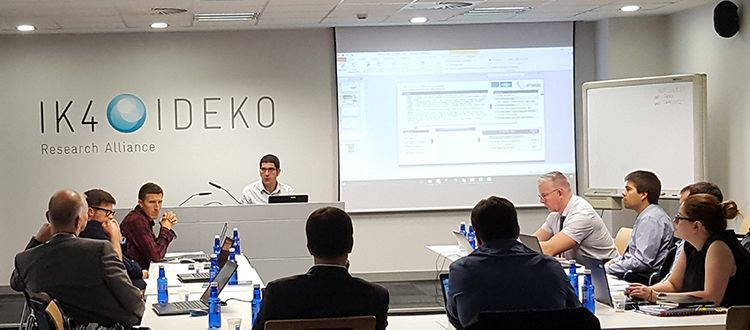 IK4-IDEKO holds an Exploitation Strategy Seminar (ESS) in the frame of OPTIMISED