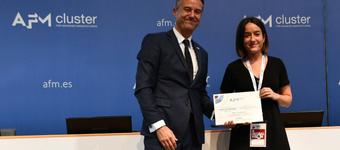 IDEKOko Maria Garcia ikerlariak jaso du ponentzia zientifikorik onenaren saria makina- errremintako kongresuan