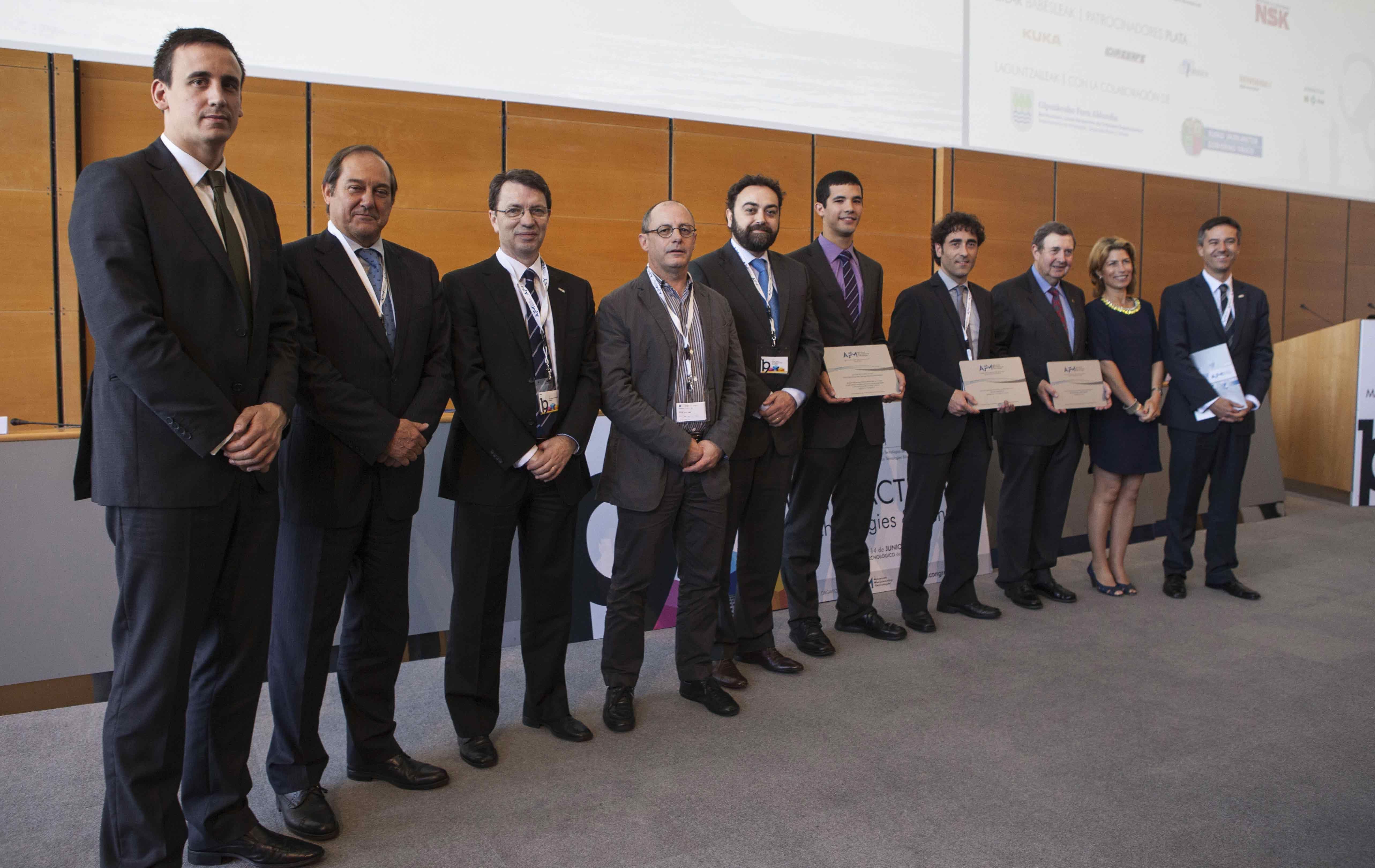 IK4-IDEKO galardonado con el premio de mejor ponencia cientifico-técnica en el XIX Congreso de M-H