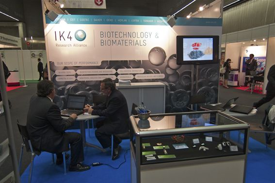 IK4-Ideko exhibits the challenges of biotechnology research at BioSpain