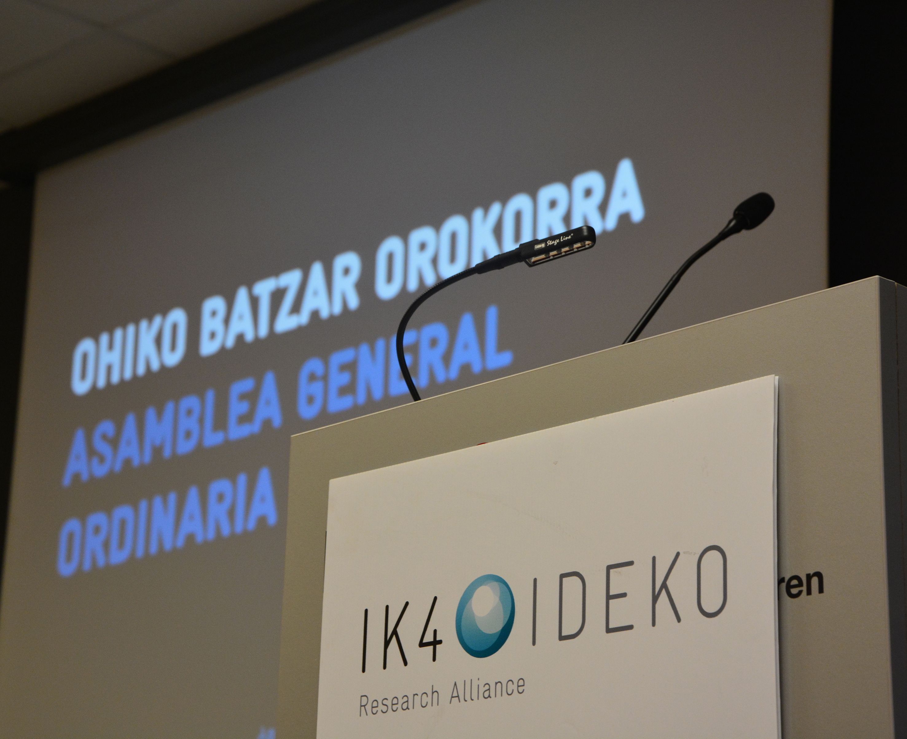 IK4-IDEKO billed 9.6 million euros in 2015, eight per cent more than the previous year