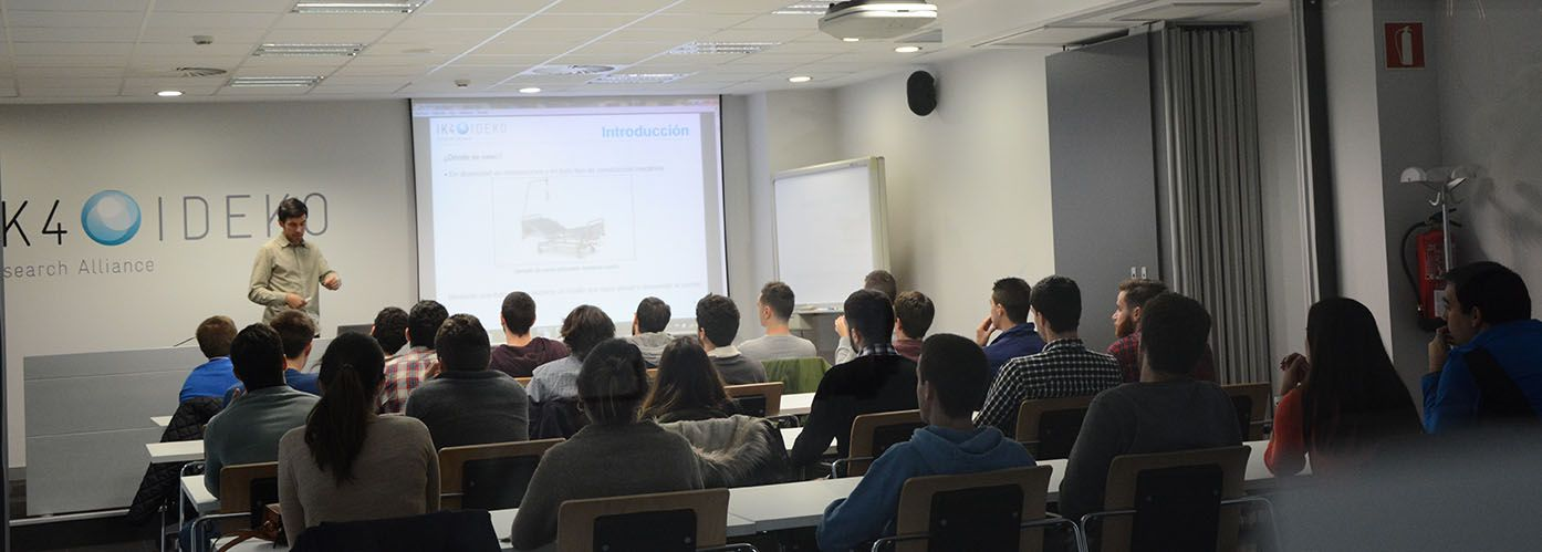IK4-IDEKO participates again in the Machine Tool Classroom at the University of the Basque Country