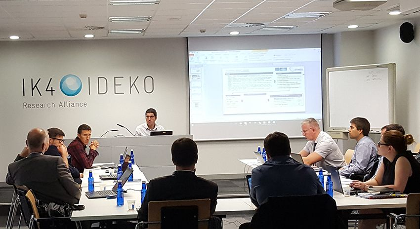 IK4-IDEKO holds an Exploitation Strategy Seminar (ESS) in the frame of OPTIMISED