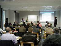 Inteligentzia Lehiakorraren inguruko jardunaldiak Ideko-IK4n, Elgoibarren (Gipuzkoa) 2011ko maiatzaren 5ean