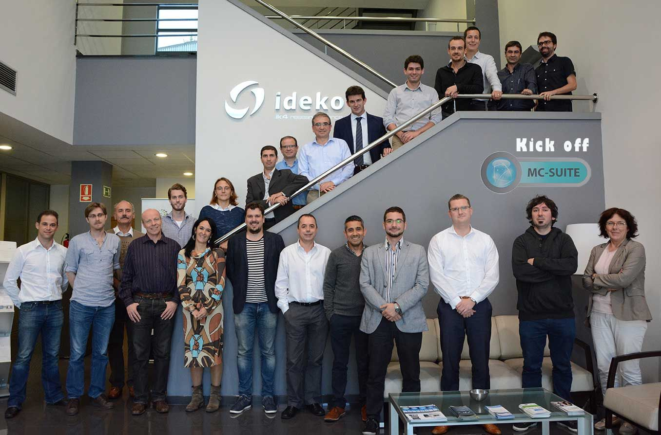 IK4-IDEKO leads a European project in the field of Advanced Manufacturing with a budget of 4M€