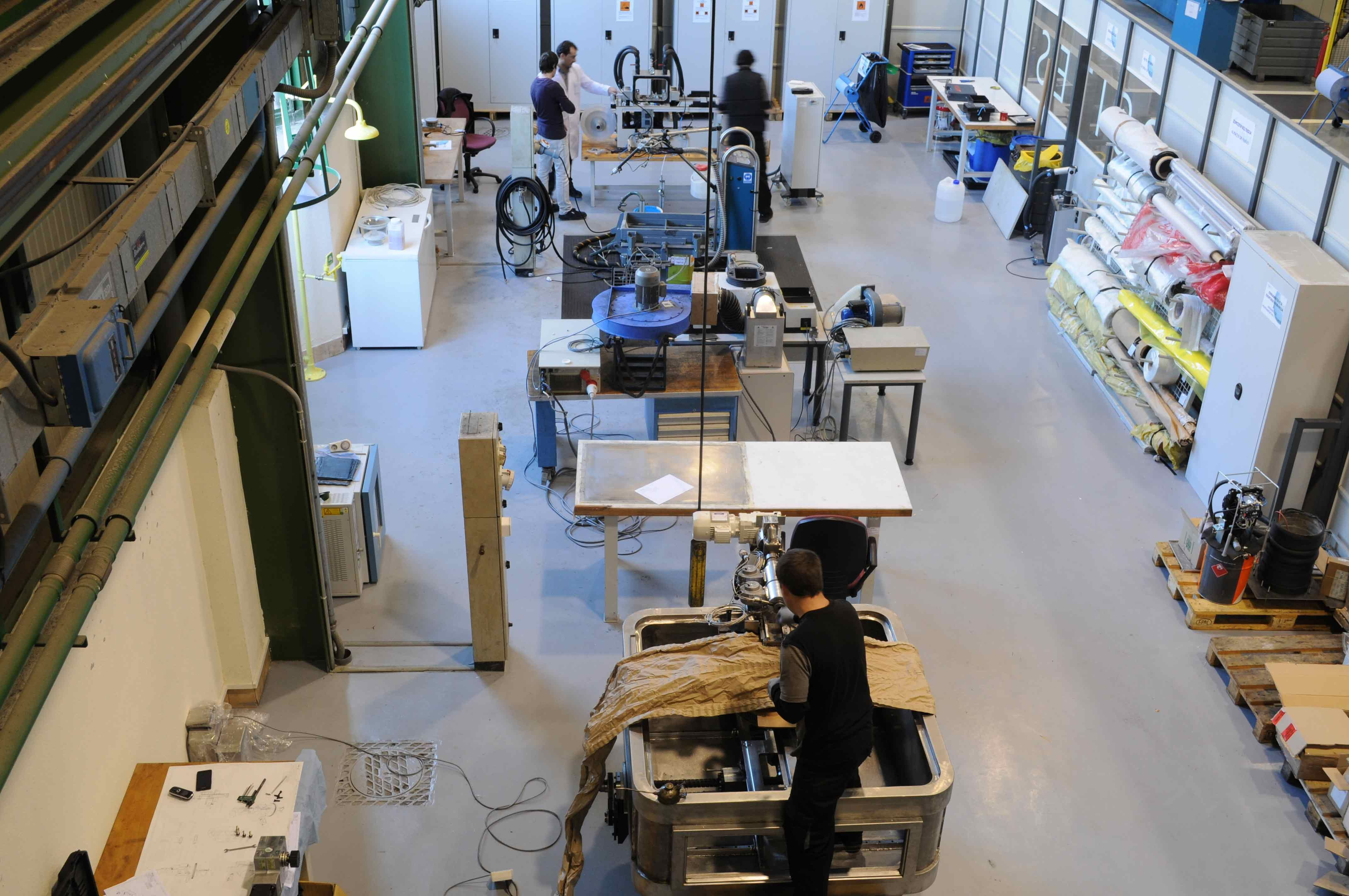 Intensa actividad en el laboratorio de composites de ik4-ideko