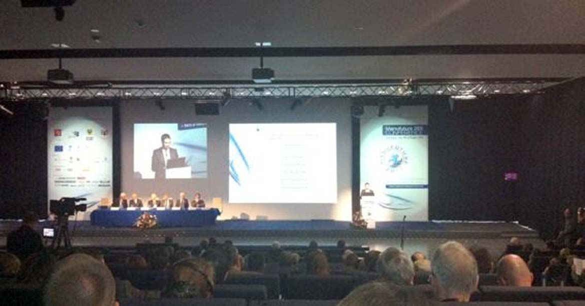 Invited to present a paper at the MANUFUTURE 2011 conference