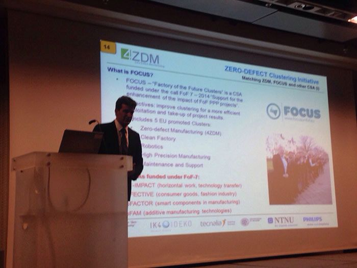 Conferencia industrial Zero Defects Manufacturing en Oslo
