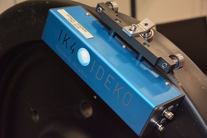 IDEKO-IK4 develops a state-of-the-art ultrasonic train wheel inspection system for CAF