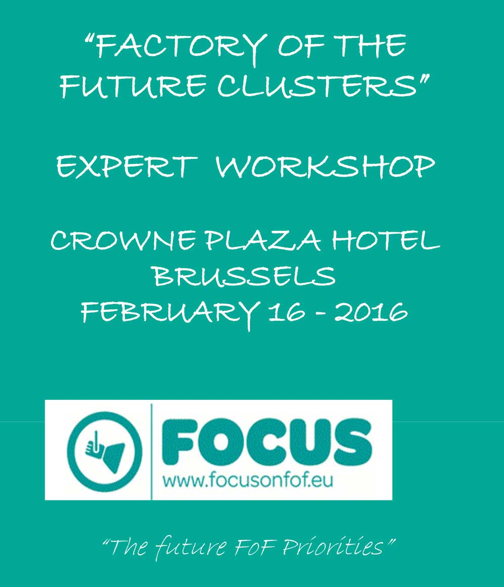 International experts in Brussels are studying ways of cooperation between project clusters to boost technology transfer.