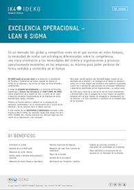 EXCELENCIA OPERACIONAL - LEAN 6 SIGMA