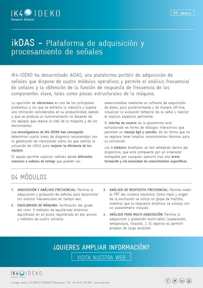 ikDAS - ANÁLISIS DE VIBRACIONES